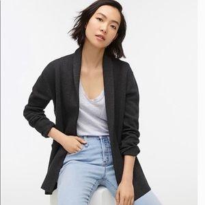 J crew Camille sweater-blazer NWT small